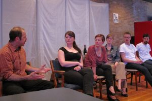 Cast talk back with MCC Manitoba's Steve Plenert at One88 (Eastview downtown campus), May 9.