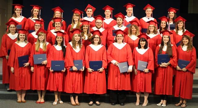 Diploma graduates
