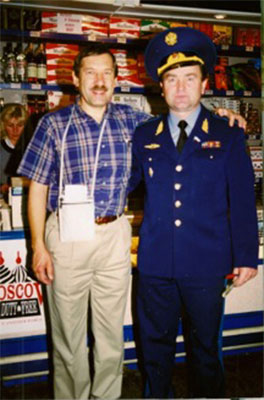 Ed Penner with the General