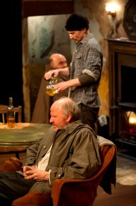 Pictured (L-R): Ron Reed, John Emmet Tracy. Photo by Emily Cooper.