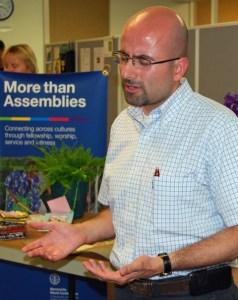 MWC general secretary  Cesar Garcia