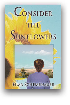 Books-sunflowers