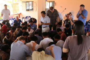 Church planters gather at The Changed Life Center in Northern Thailand. PHOTO courtesy MB Mission