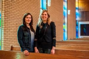 Danielle Fontaine Koslowsky (l), Rachel Baerg (r)