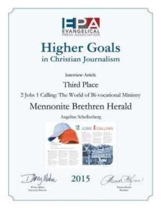 EPA HG awards certificate2015