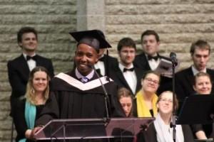 Grad CMU 2015 - Valedictorian Joseph Kiranto