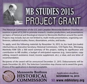 MBHC_ad_mb studies project grant 2015
