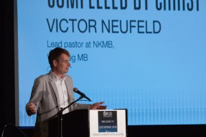 Victor Neufeld speaks on being compelled by Christ's sacrifice.