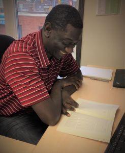 Reviewer Arisnel Mesidor works as migration coordinator for MCC Manitoba.