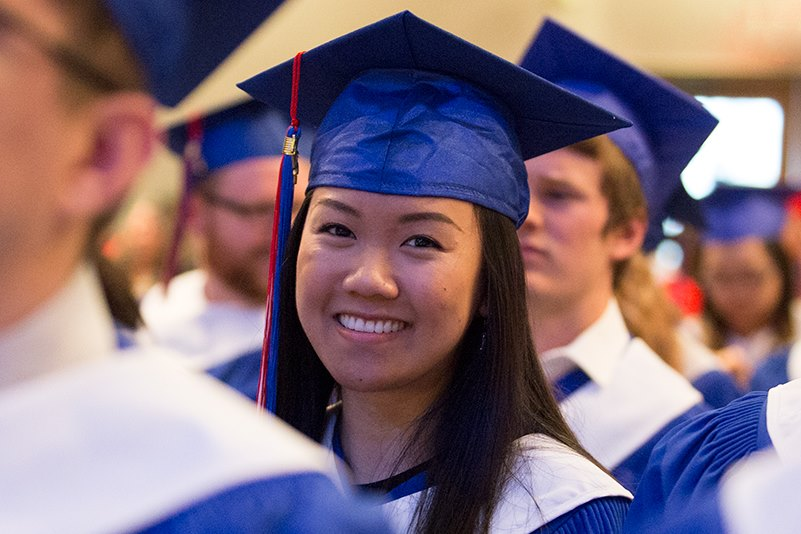 Columbia Bible College graduation 2017