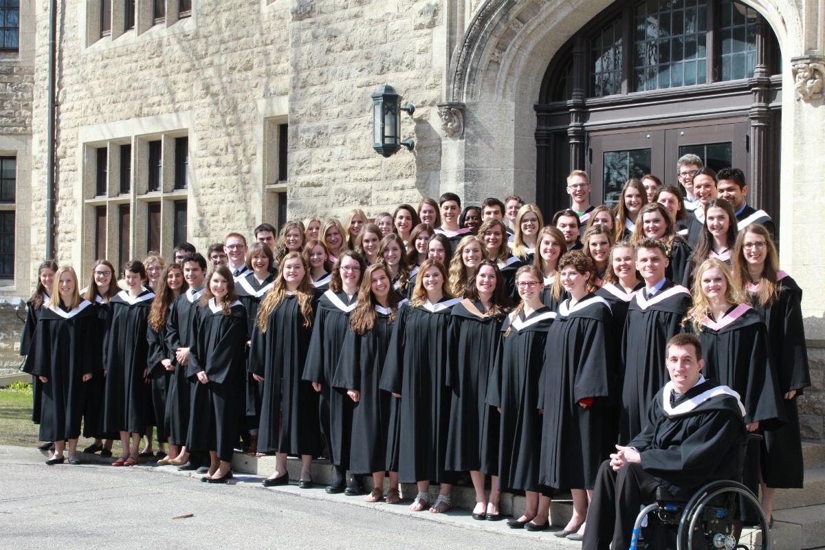 Canadian Mennonite University graduation 2017 - Mennonite Brethren Herald