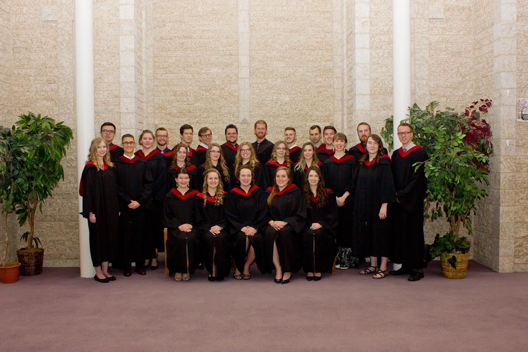 Steinbach Bible College graduation 2017 - Mennonite Brethren Herald