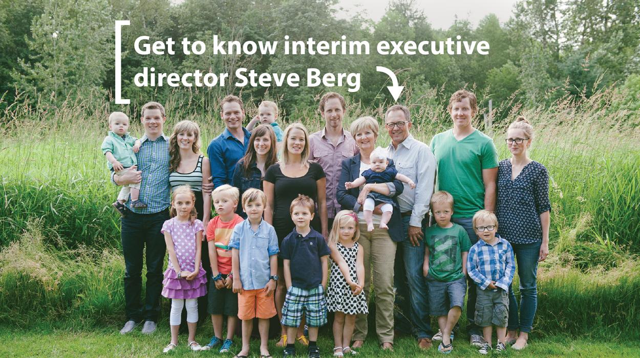 Get to know interim executive director Steve Berg - Mennonite Brethren Herald