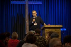 BC conference minister Rob Thiessen