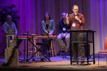 TED-style talk presenter Randy Wollf