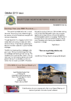 MHA Newsletter – October 2019 Issue