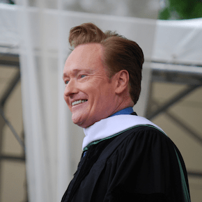 """What Doesn't Kill You Almost Kills You"" -- Conan O'Brien"