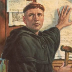 Four Points About Martin Luther on 31 October 2017