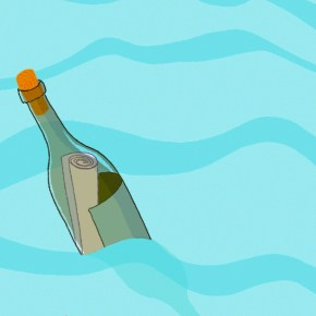 Message in a Bottle - An Excerpt from Unmapped Washes Ashore
