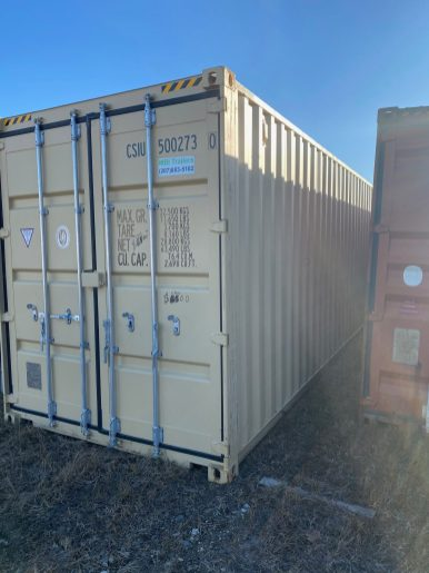 40' HC One Way Container 2