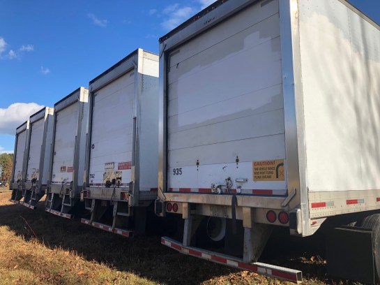 Insulated 48ft Trailers 1