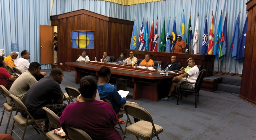 Petition against Palau casino presented at multiple hearings BY BERNADETTE H. CARREON Palau Correspondent