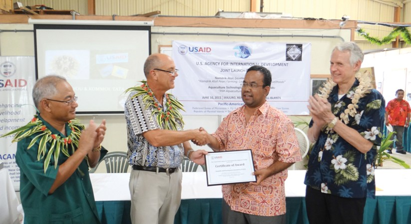 U.S. injects $2.2 million into climate development work in Marshall Islands