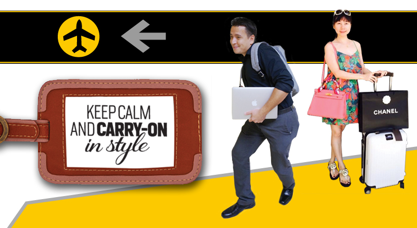 Keep calm and carry on in style