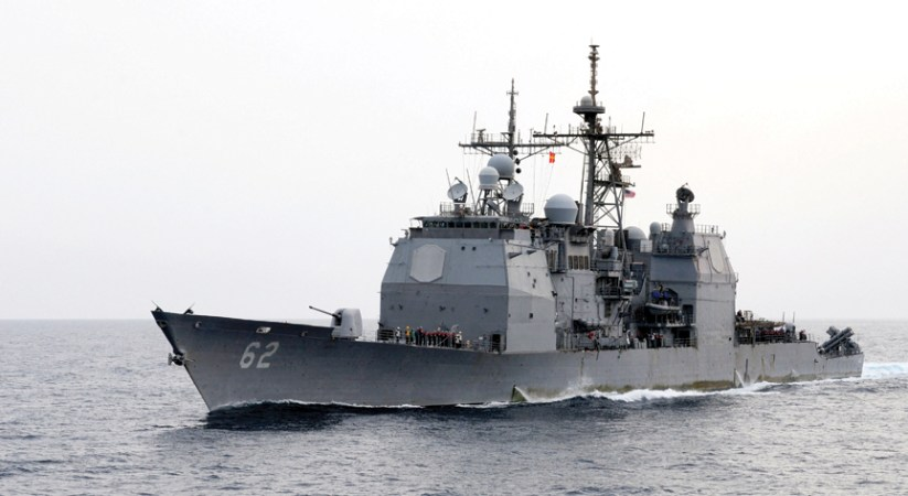U.S. Navy missile cruiser makes repeat visit to Mariana Islands