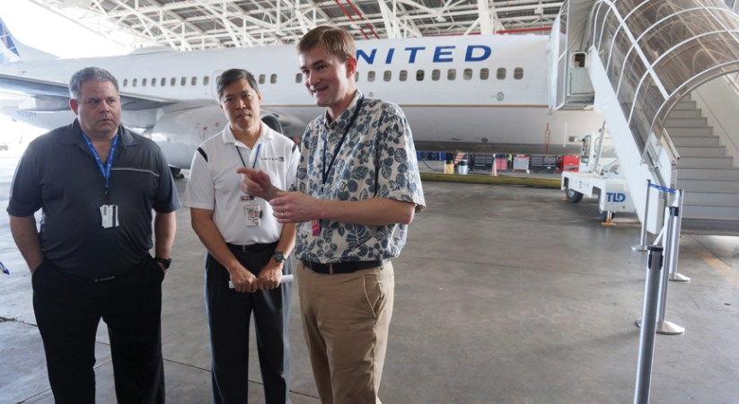 Eligible for upgrade: United finishes Guam-based 737 overhauls; Honolulu route 777s next in line