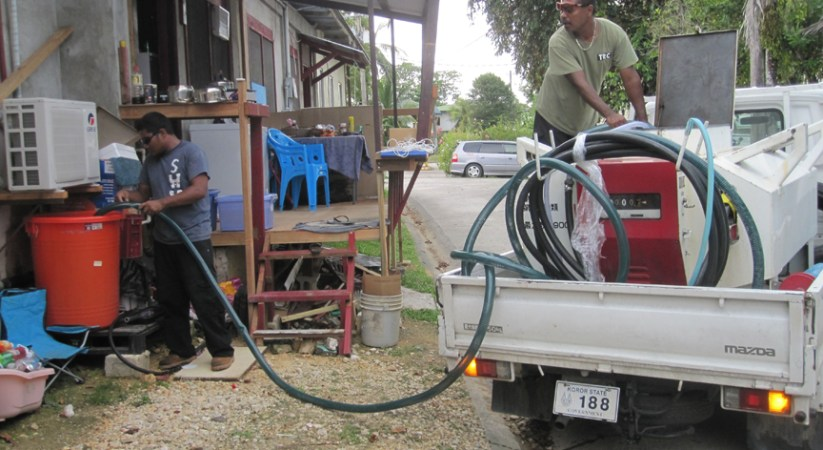 Palau's bilateral partners step up drought assistance
