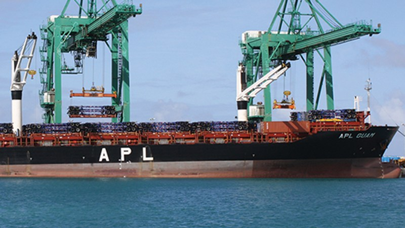 Threat to APL's Guam service stalls initially