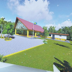 Palauan Cultural Center nearly completed