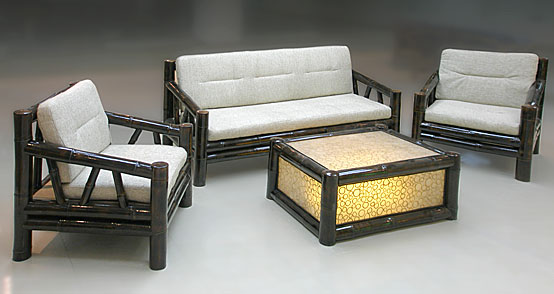 Высококачественная, изготовленная профессионалами бамбуковая мебель