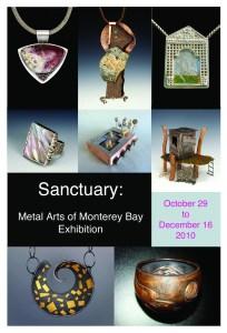 MBMAG Sanctuary show postcard image