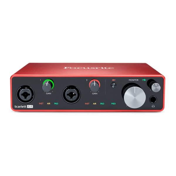 Scarlett-Audio-Interface