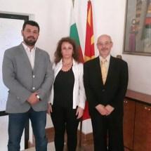 МБП  на покана на амбасадорот Иван Петков оствари пријателска средба