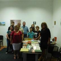 Донација на книги во МБП