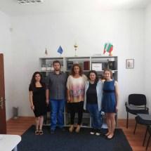 Студенти од Великотрновскиот универзитет на пракса во МБП