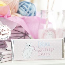 kitty cat candy bar wrappers
