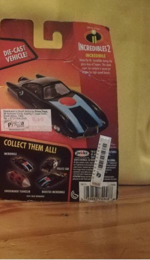 incredibles 2 car product image