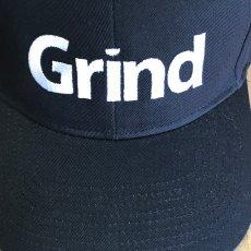 GRIND Business Creative Logo on Hat