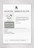 Invitation Fax Événement BBQ 2014