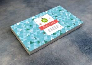 Carte de bienvenue - Événement Fin 2014 - SERVIMO