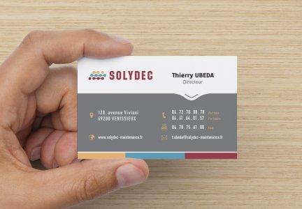 Carte de visite SOLYDEC
