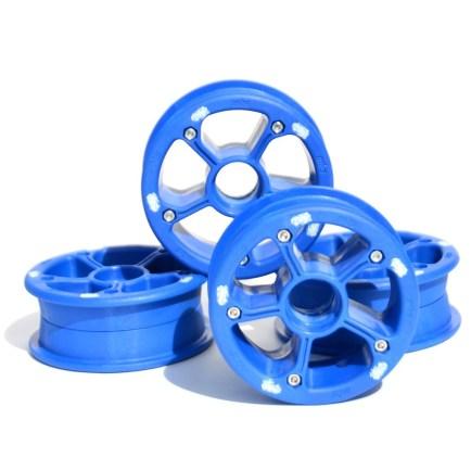MBS RockStar II hubs blue