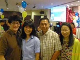 Peter Yap, Mrs Yap, Heng Yuen, Evelyn