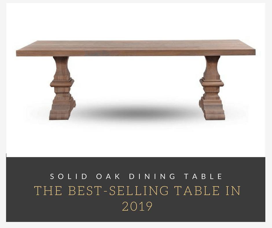 Den bedst sælgende tabel i 2019