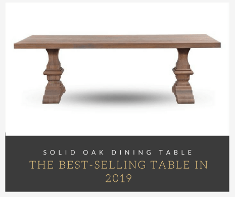 The best-selling table in 2019
