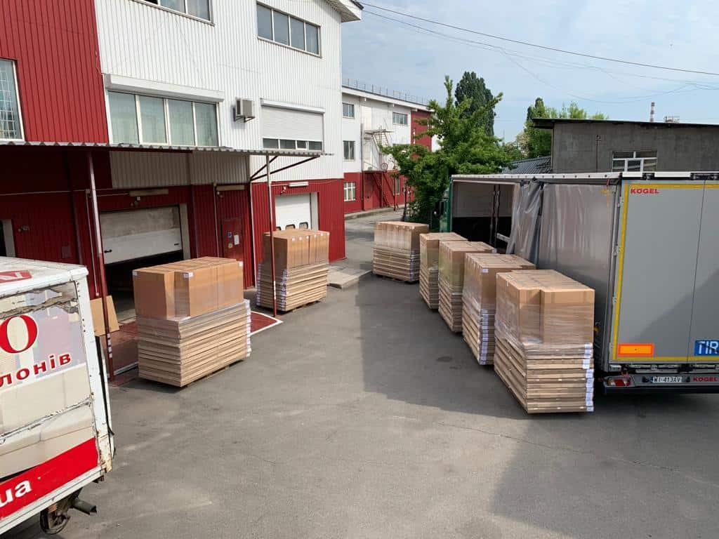 transport productie